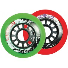 Powerslide Hurricane Piros 72mm